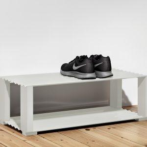 收納,牆上收納,北歐設計,丹麥,家具,收納家具, 鞋櫃,鞋架
