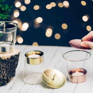 kanari, kanari設計, 雙用燭台, 燭台, 茶蠟燭台