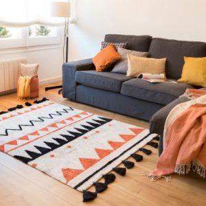 地毯,毯子,可機洗,可機洗地毯,兒童地毯,手工地毯,環保,天然,客廳空間,餐廚空間,臥室空間,空間佈置,室內設計,傢俱選物,Lorena Canals, 兒童房佈置, 兒童地毯, 小孩房佈置, 居家地毯, 客廳地毯, 佈置地毯,