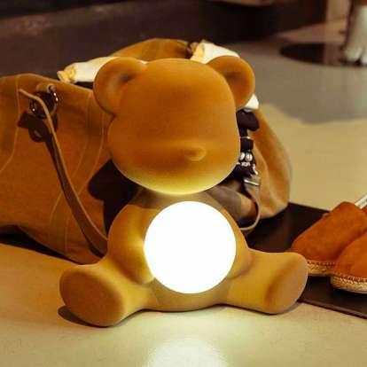 燈飾, 造型燈,義大利品牌,造型椅,藝術裝置,室內設計,空間佈置,傢俱選物,台中,Viithe,樂闊, Qeeboo燈, 義大利奇寶燈, 泰迪女孩燈, 泰迪熊燈, 泰迪造型燈, 泰迪男孩燈