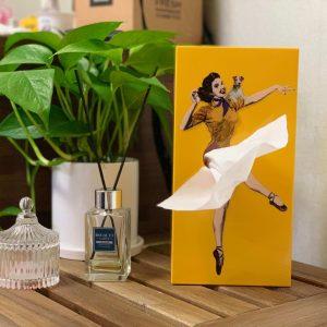 面紙盒, 造型面紙盒, 蓬蓬裙面紙盒, 女孩面紙盒, 女郎面紙盒