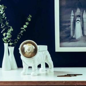 造型擺飾, 機器人, 復古,德國,設計品,太空人, donkey products, 狗狗太空人