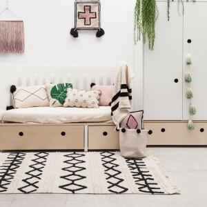 地毯,毯子,可機洗,可機洗地毯,兒童地毯,手工地毯,環保,天然,客廳空間,餐廚空間,臥室空間,空間佈置,室內設計,傢俱選物,Lorena Canals,台中, 寶寶房佈置, 小孩房佈置