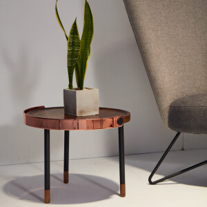 CARMEL 簡約輕奢銅環咖啡桌 (小)