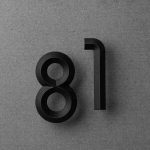 NAKNAK, 門牌, 門牌號碼, 門牌數字