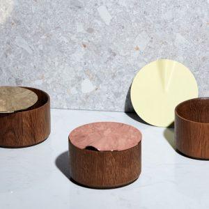 camino, 金屬圓盒, 收納小物, 儲物盒, 收納盒