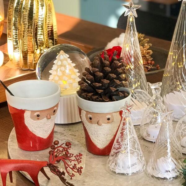MEIZAN, 聖誕老人手工窯燒杯, 日本MEIZAN, 聖誕老人杯,手工窯燒杯