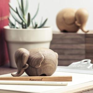 造型實木公仔, 實木公仔, 造型擺飾, 實木擺飾, 動物擺飾, FUN WOOD ,大象實木擺飾
