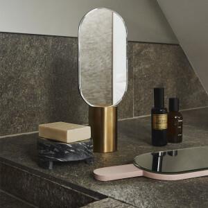 OYOY, 丹麥造型手持立鏡, 丹麥桌鏡, 丹麥造型鏡子, 化妝桌鏡