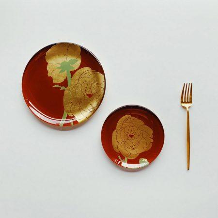 WEN PIIM, 餐具, 置物盤, 金箔餐具, 金箔餐盤, 金箔禮物, 盤子, 手工藝品盤, 職人手作 ,器皿