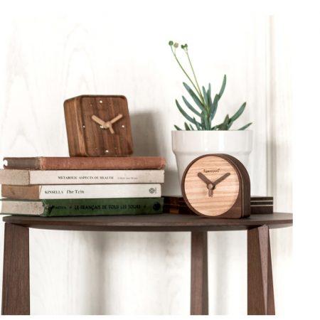 Funwood, 水滴型時鐘, 桌上型時鐘, 實木時鐘, 木銅時鐘