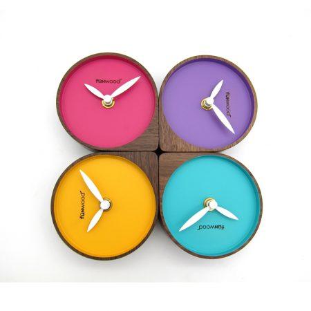 Funwood, 桌上型時鐘, 繽紛桌鐘, Funwood桌鐘, 馬卡龍桌鐘