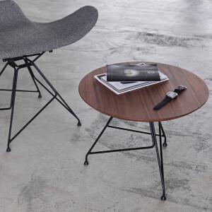 camino,圓桌,咖啡桌 , 餐桌, Euphony Coffee Table 胡桃木圓桌