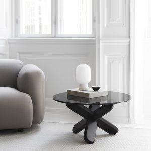 簡約設計,丹麥進口,Normann Copenhage,咖啡桌,大茶几,中央几,玻璃桌,進口品牌桌子,小圓桌,沙發桌