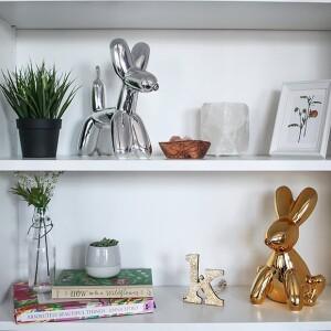 Made by humans,存錢筒, 動物造型存錢筒 ,閃光兔子存錢筒