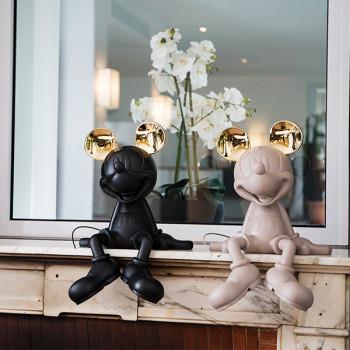 米奇公仔, 法國米奇公仔, LED造型擺飾, 米奇擺飾, 法國 Mickey米奇迎賓公 ,Leblon Delienne