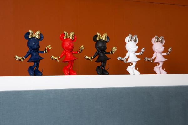 米妮公仔, 法國米妮公仔, LED造型擺飾, 米妮擺飾,法國 Mickey米奇迎賓公仔 ,Leblon Delienne