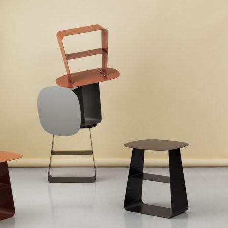 Normann Copenhagen,進口咖啡桌,簡約咖啡桌,簡約設計,丹麥設計,小茶几,小邊桌,沙發邊桌,方形邊桌,小矮桌,
