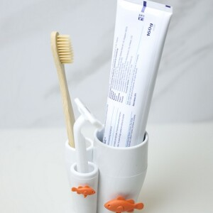 QUALY,牙刷架,造型牙刷架,可愛牙刷架,放牙刷的架子,小丑魚牙刷架,