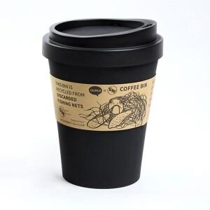 QUALY,垃圾桶,隨行杯,隨行杯垃圾桶,咖啡杯垃圾桶,環保垃圾桶,小型垃圾桶,黑色垃圾桶,造型垃圾桶