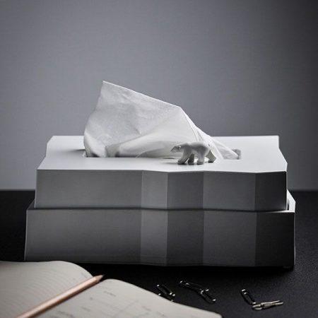QUALY,衛生紙盒,造型衛生紙盒,北極熊衛生紙盒,裝衛生紙的盒子
