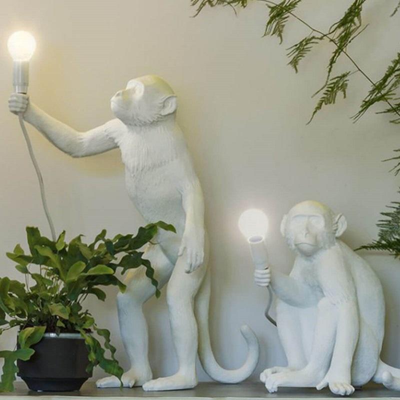 Seletti, 花瓶,花器,猴子造型花瓶,站立猴子花器,造型花器,造型花瓶,白色花瓶,白色花器,進口花瓶,進口花器,義大利花瓶,義大利花器,藝術花瓶,藝術花器