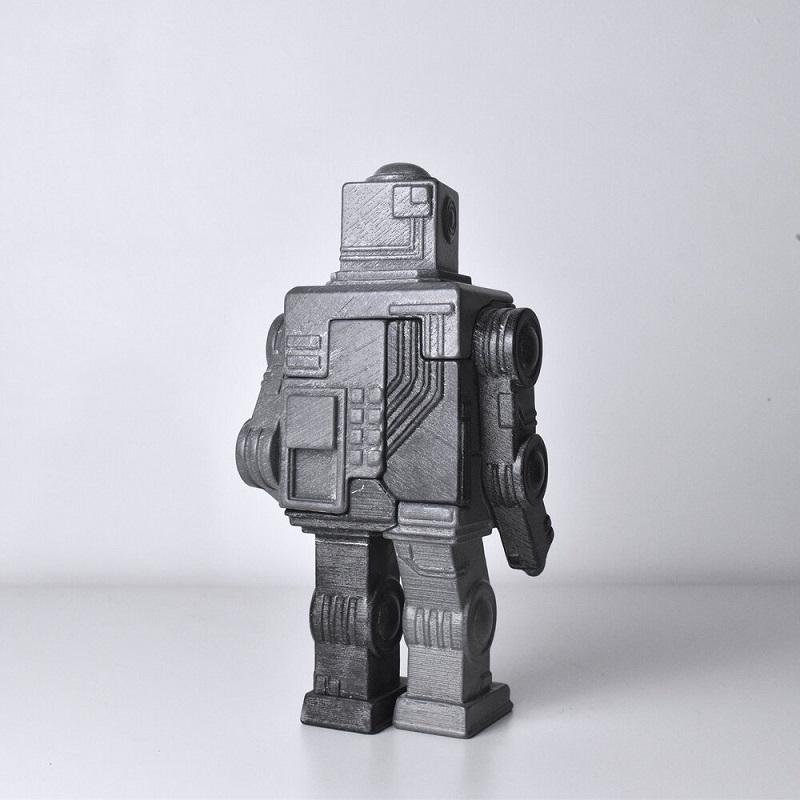 Locknesters,機器人,機器人拼圖,立體拼圖,立體機器人拼圖,復古機器人拼圖,3D立體拼圖,3D立體造型拼圖,機器人擺飾,