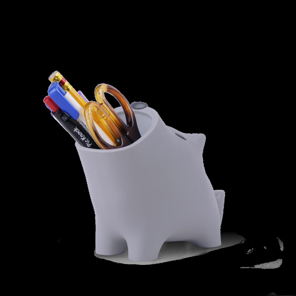 Smilingoods,文具收納盒,造型收納盒,迴紋針收納,筆筒,動物造型筆筒,造型筆筒,