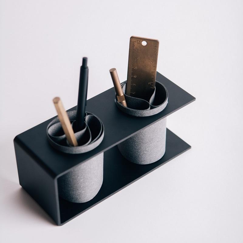 PLEASANT, 文具組, 筆筒, 文具收納, 皮革文具收納組, 靜止文具組,