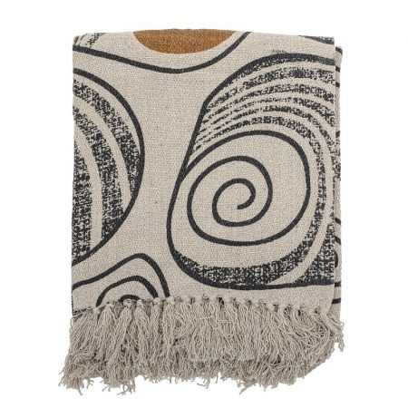 Bloomingville, 毯子, 暖毯, 波西米亞毯, 兩用毯,